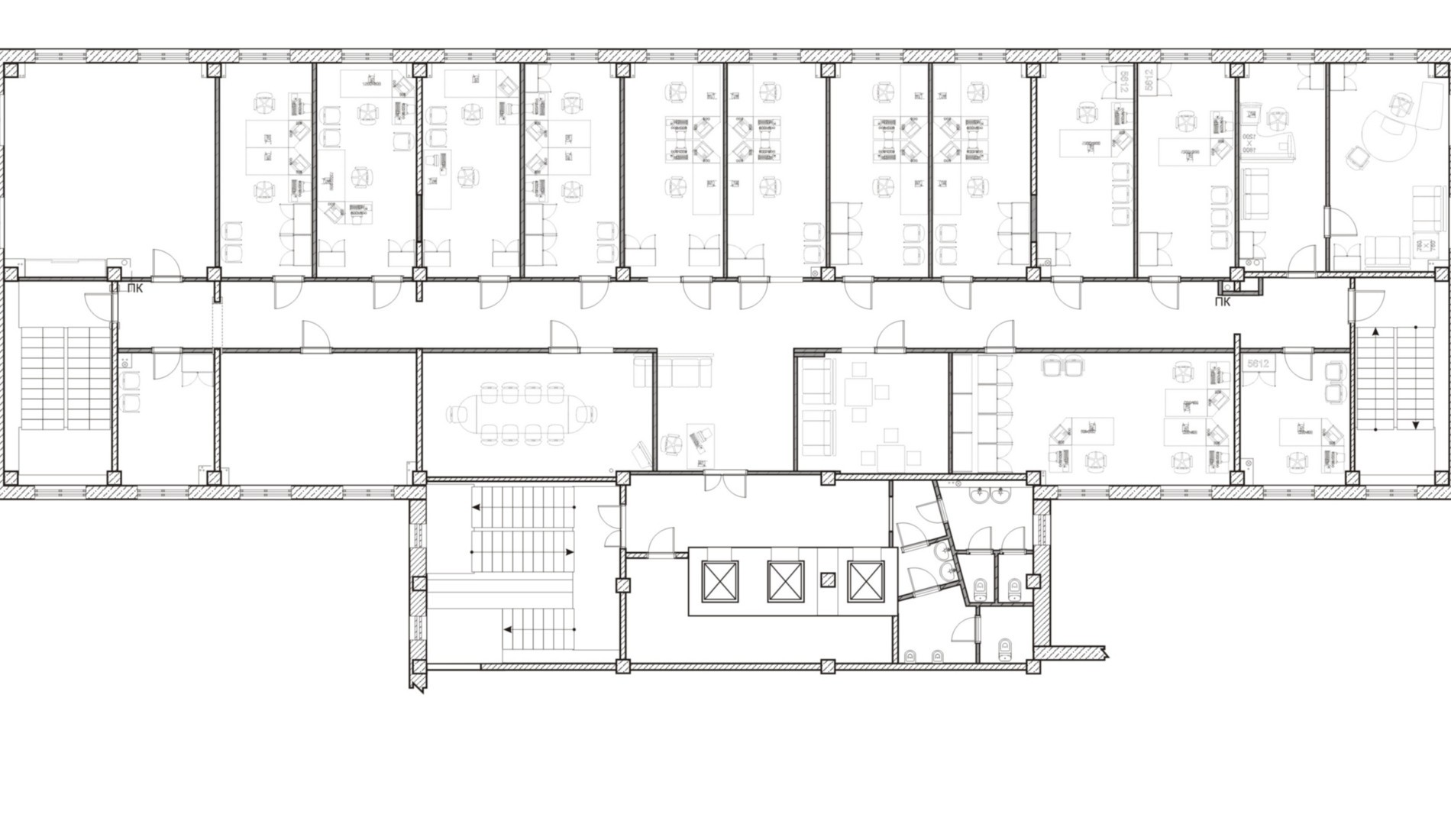 office space plan. comspaplangal2 office space plan b