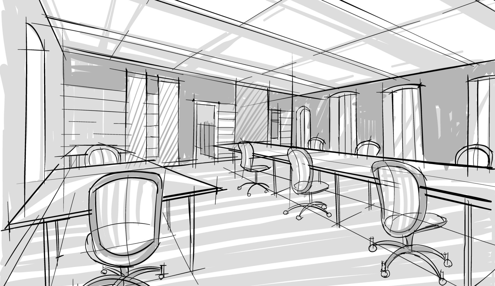 office commercial space planning interiors in order inc comspaplangal4