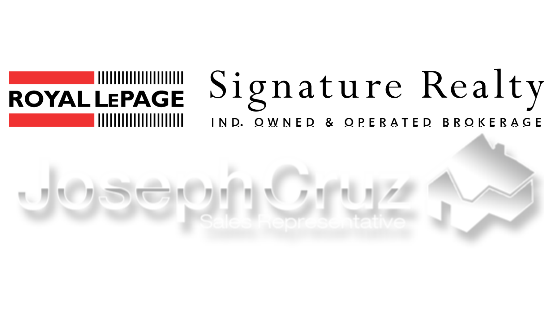 Joseph Cruz Real Estate Royal LePage Signature logo