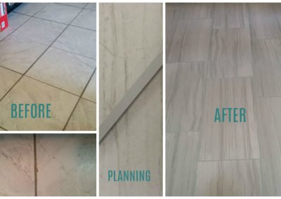 80's floor no more, bring on the modern and durable!