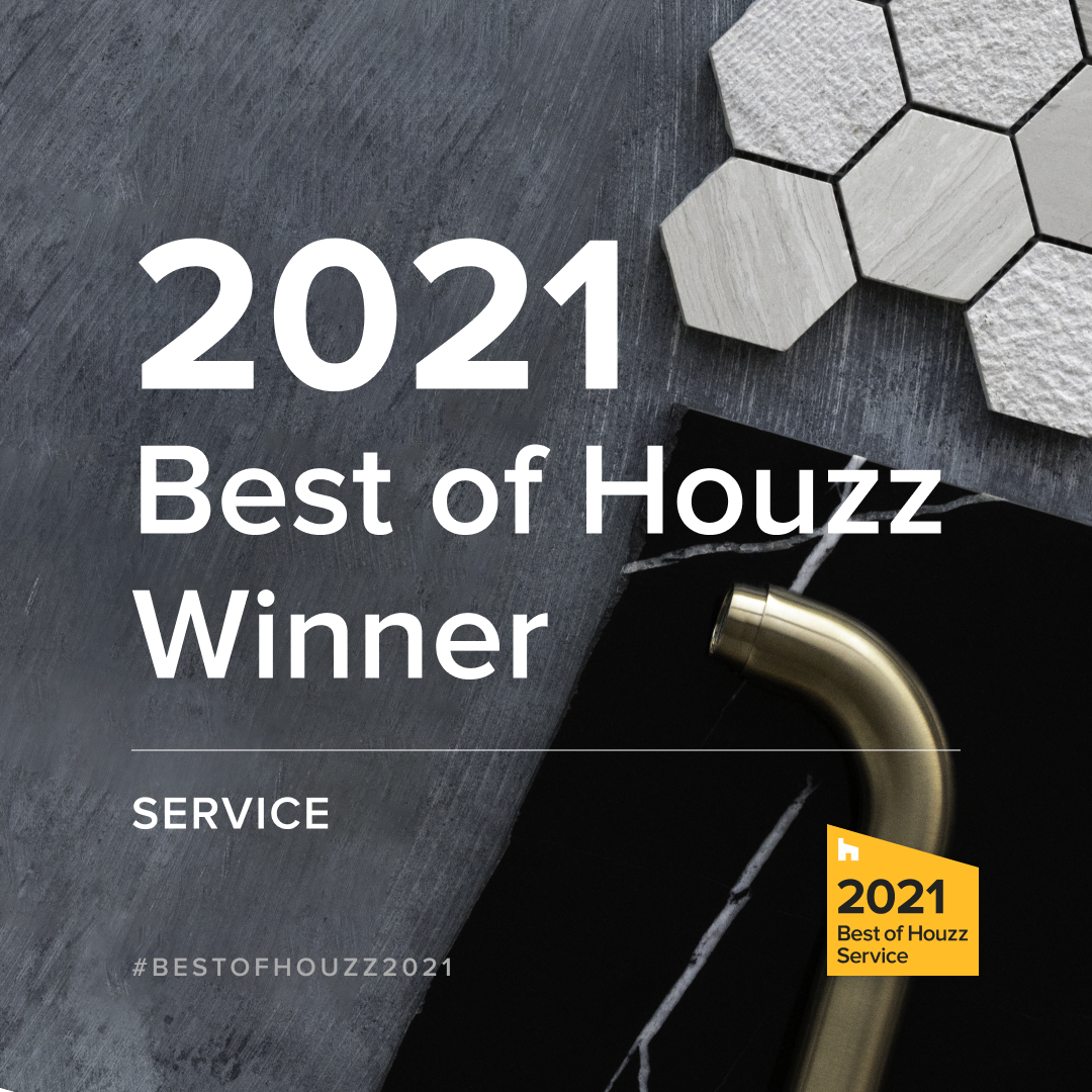 Best of Houzz 2021 award